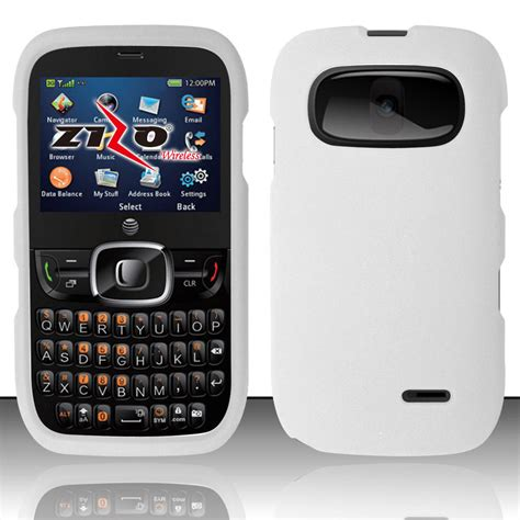 go phone cases for at t gophone zte z432 rubberized protector
