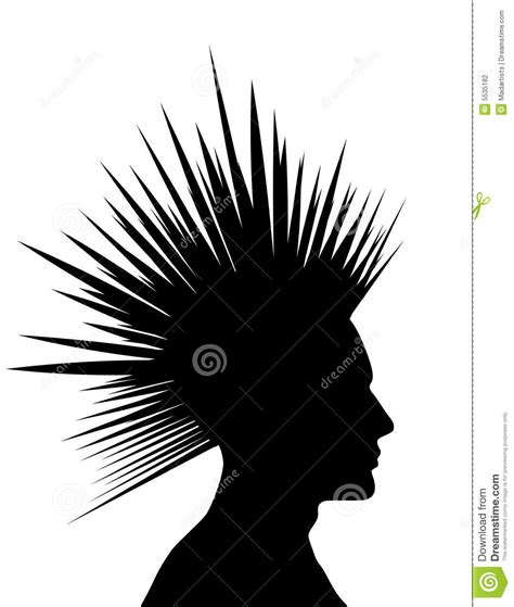 mohawk cartoons illustrations vector stock images