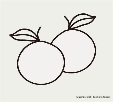 35 gambar buah jeruk untuk mewarnai