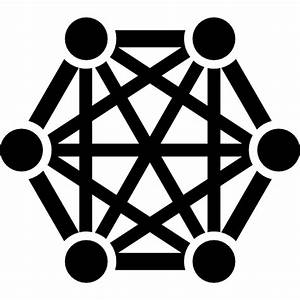 Connectors  Connection  Connecting  Connectivity  Shapes  Hexagon Icon