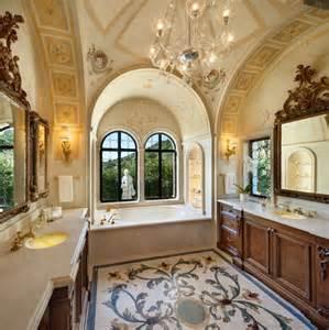 mosaic bathroom tile ideas italian palazzo in montecito by sfa design dk decor