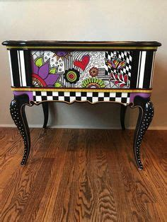 hand painted custom finished furniture painted
