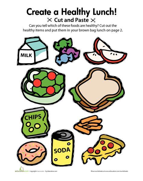lets eat healthy activities healthy food activities