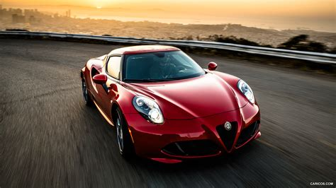 Alfa Romeo 4c Us by 2015 Alfa Romeo 4c Us Spec Front Hd Wallpaper 1