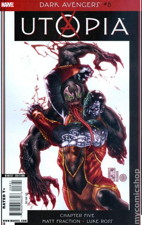 avengers dark marvel comic 2009 books issue