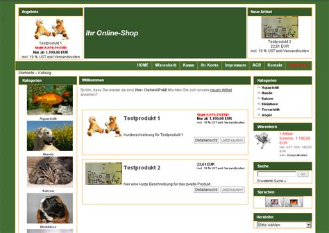Div Templates Div Css Xt Commerce Template Kategoriebilder Links Fema