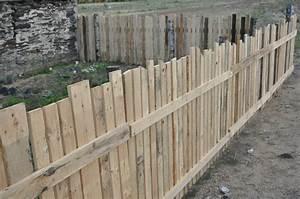 palissade acheter demolir reconstruire et y vivre With maison en palette plan 12 comment faire un mur en bois de palette mzaol