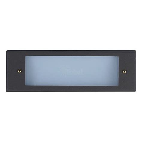 outdoor low voltage bronze glass lens rectangle surface