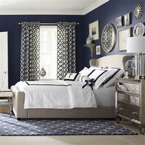 Best ideas about navy master bedroom on