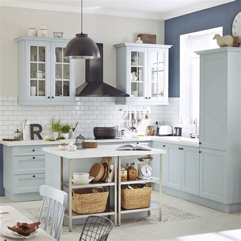 leroy merlin cuisine delinia meuble de cuisine bleu delinia ashford leroy merlin