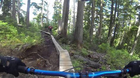 whistler bc downhill mountain biking july  youtube