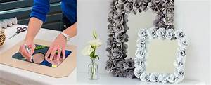 How To Make Egg Cartons Decorative Mirror