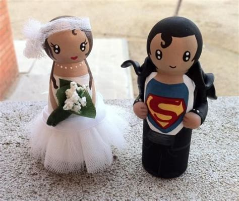 novios personalizados  tarta de boda elaborados sobre