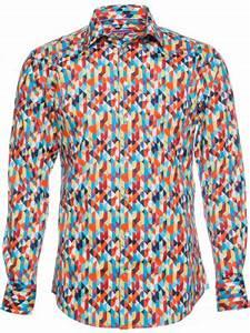 Chemise Homme Motif Original : chemise originale imprim e motifs ~ Nature-et-papiers.com Idées de Décoration