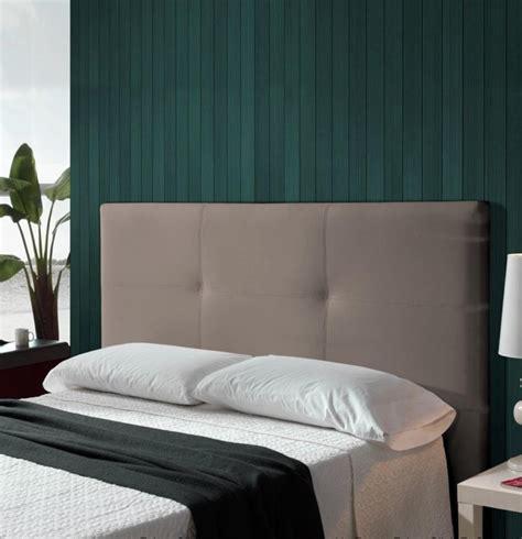 Annonce chez maisons du monde. Tête de lit 160 gris taupe Simili Skin | LesTendances.fr
