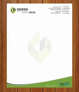 letterhead design formal letter template With custom letter design