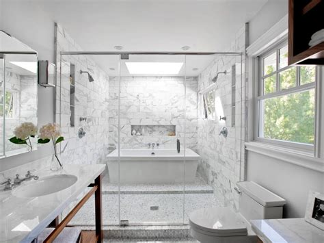 Designer Bathroom Tile by 15 Simply Chic Bathroom Tile Design Ideas Hgtv