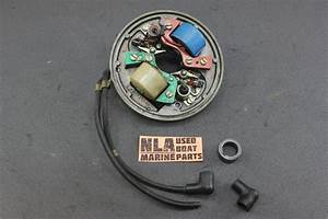 Johnson Evinrude 7 5hp Outboard 580210 Ignition Plate