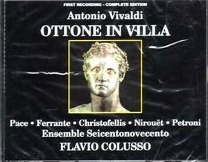 Ottone in villa - Antonio Vivaldi - Mondadori Store