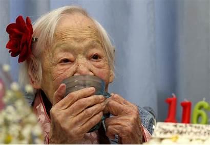 Oldest Person Okawa Misao Birthday Happy Kind