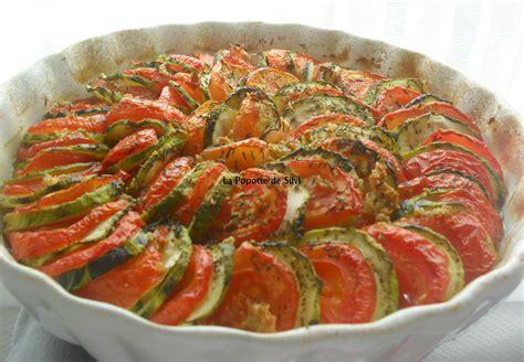 tian de courgettes et de tomates
