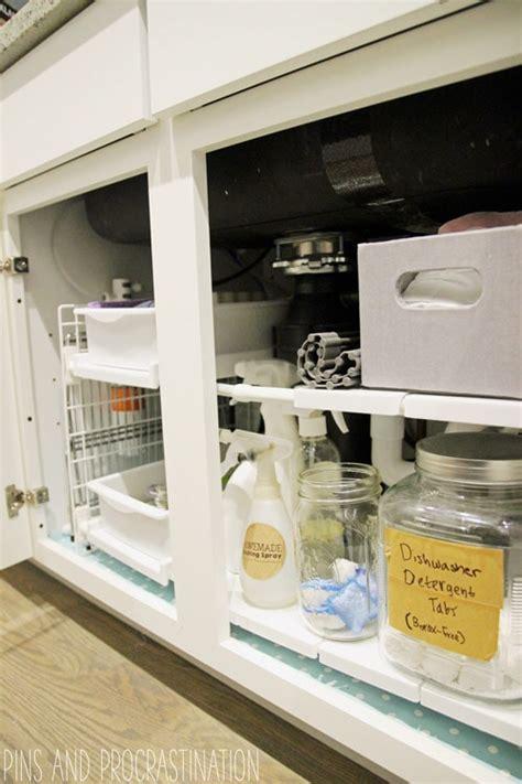 kitchen sink organization kitchen sink cabinet organization pins and procrastination 2802