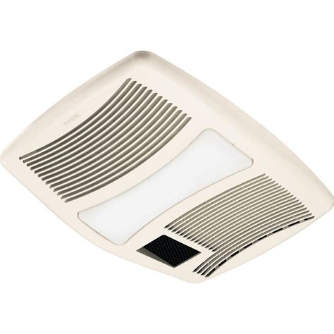 ceiling fan with light and heater qtx series very quiet 110 cfm ceiling exhaust fan with