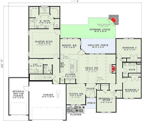 secluded master suite  architectural designs house plans