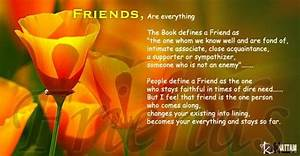 Touching Friendship Quotes. QuotesGram