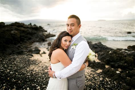 White Orchid Beach House Wedding In Hawaii
