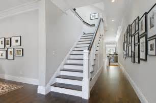 treppe modern staircase and hallway traditional staircase san francisco by cardea building co