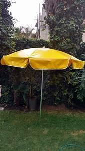 Parasol De Jardin : sombrilla de lona reforzada para playa o jard n 1 en mercado libre ~ Teatrodelosmanantiales.com Idées de Décoration