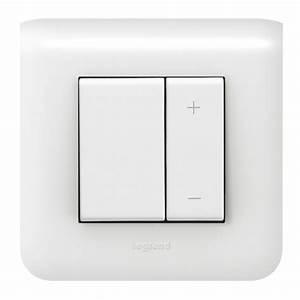 Interrupteur Variateur De Lumiere : interrupteur variateur avec plaque legrand mosaic 600w ~ Farleysfitness.com Idées de Décoration