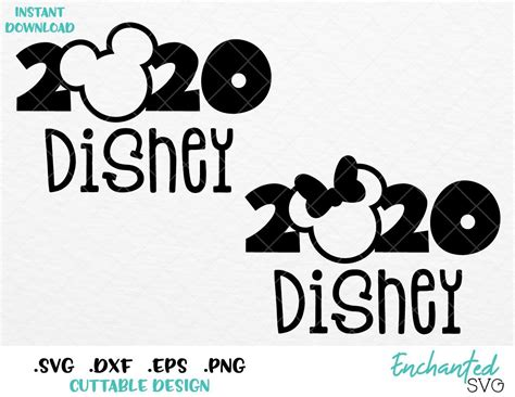 Costco travel offers disneyland, disney world vacation packages, disney cruise line cruises and more. Minnie and Mickey Ears Disney 2020 Inspired SVG, EPS, DXF ...