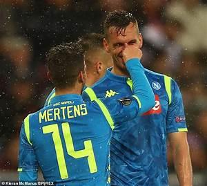RB Salzburg 3-1 Napoli (3-4 agg): Italian side progress in Europa League despite defeat   Daily ...