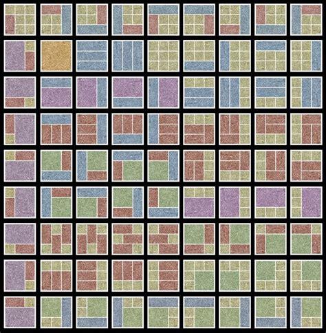 combinatorial geometry     ways    panel comic grid