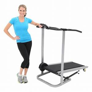Exerpeutic 260 Magnetic Manual Treadmill With Pulse