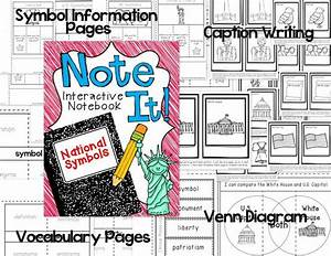 American Symbols/monuments interactive notebook | *Primary ...