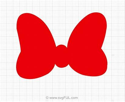 Minnie Bow Mouse Svg Clipart Disney Svgful