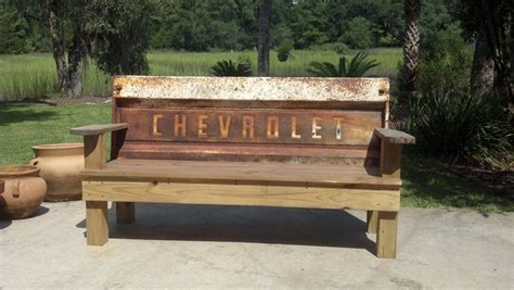 Vintage Tailgate Benches  By Skidog Homerefurberscom