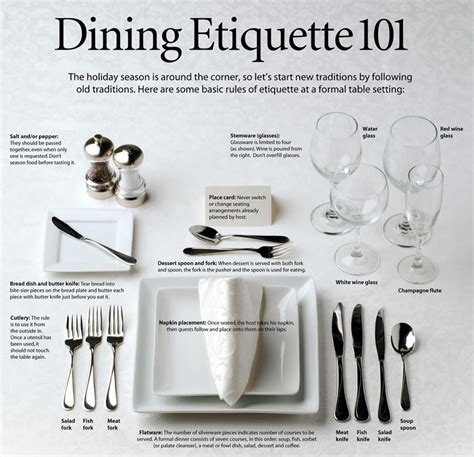 proper etiquette dining etiquette 101 thepatriot