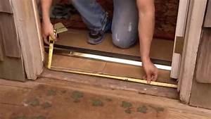 Barre De Porte D Entrée : comment poser une barre de seuil de porte en aluminium ~ Premium-room.com Idées de Décoration