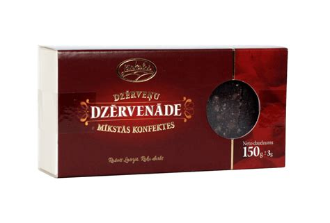Dzērveņu mīkstās konfektes Dzērvenāde 150g • Jāņkalni