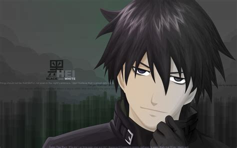 Darker Than Brown by Hei Darker Than Black Hd Wallpaper And Background