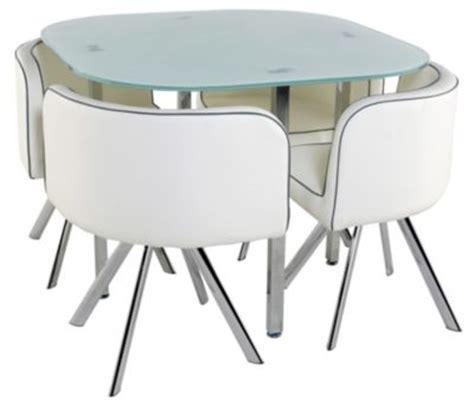 table de cuisine avec chaise encastrable table et chaises de cuisine mobilier sur enperdresonlapin