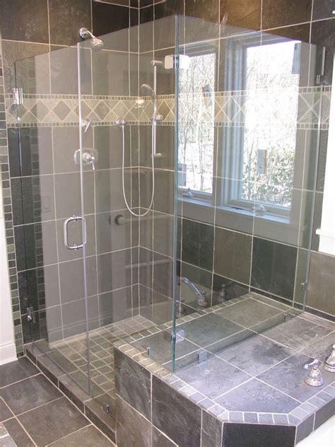 glass shower designs grey tile shower designs amazing tile