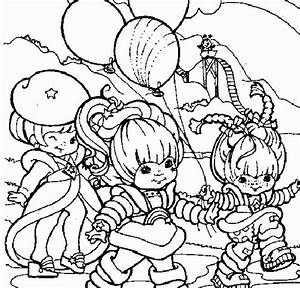 Coloring Pages Rainbow Brite - Coloring Home