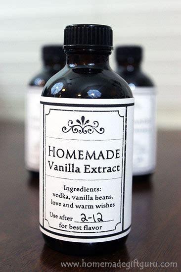 vanilla extract  individual bottles