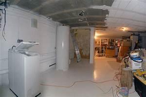 Isoler Plafond Sous Sol : amenager sous sol bas plafond luxe at plafond ~ Nature-et-papiers.com Idées de Décoration