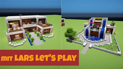 Lars Let S Play Modernes Haus by Minecraft Haus Vorstellungen Mit Lars Let S Play